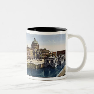 View of Berlin at the turn of the century Two-Tone Coffee Mug