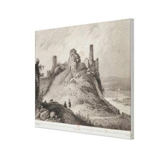 View of Berwick Castle Canvas Print