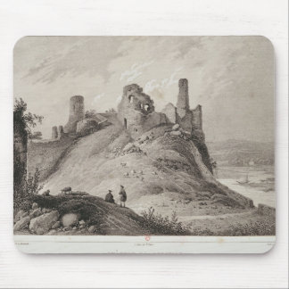 View of Berwick Castle Mouse Pads