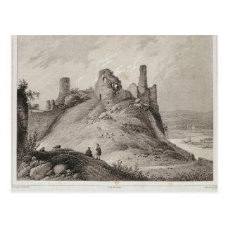 View of Berwick Castle Postcard