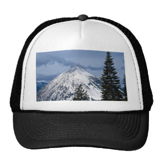 View of Black Butte from Mt. Shasta, California, U Mesh Hat