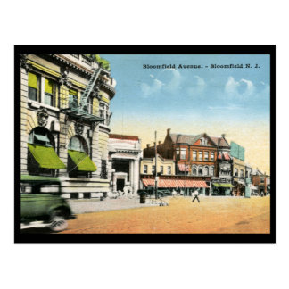 View of Bloomfield, New Jersey Vintage Post Card