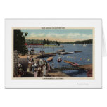 View of Boat Landing, Bathing Cove Card