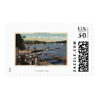 View of Boat Landing, Bathing Cove Postage