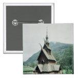 View of Borgund stave church, c.1150 Pin