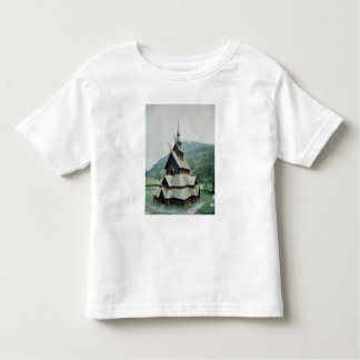 View of Borgund stave church, c.1150 Toddler T-shirt