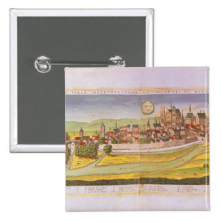 View of Bourges and the University Pinback Button