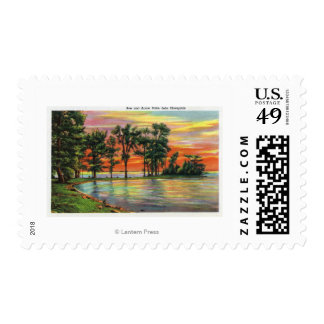 View of Bow and Arrow Point Postage