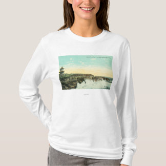 View of Breakers at Vue de l'EauSanta Cruz, CA T-Shirt