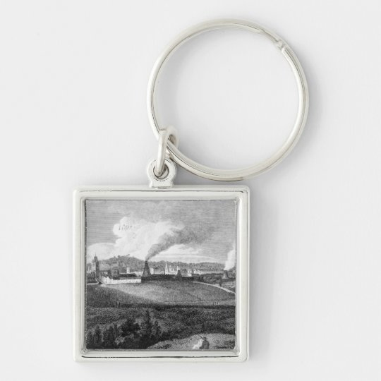 View of Bristol from Pile Hill, engraved by Keychain