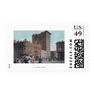 View of Broadway, 14th St, San Pablo Ave Junctio Postage