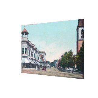 View of BroadwayChico, CA Canvas Print