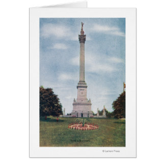 View of Brock's Monument # 2 Card