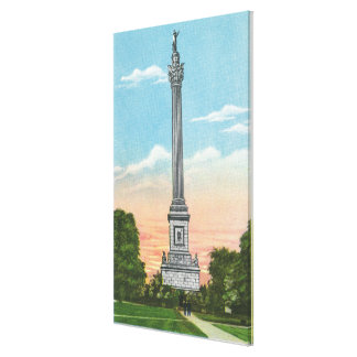 View of Brock's Monument Canvas Print
