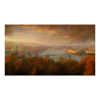 View of Budapest Poster