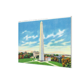 View of Bunker Hill Monument Canvas Print