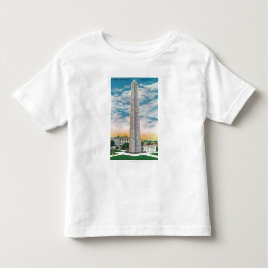 View of Bunker Hill Monument Toddler T-shirt