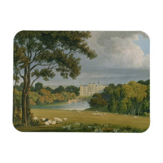 View of Burghley House, seat of the Marquis of Exe Magnet