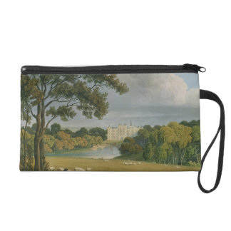 View of Burghley House, seat of the Marquis of Exe Wristlet Purse