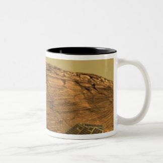 View of Burns Cliff on Mars Coffee Mug
