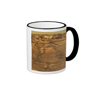 View of Burns Cliff on Mars Coffee Mugs
