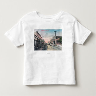 View of Business Section with Horse Carriages Toddler T-shirt