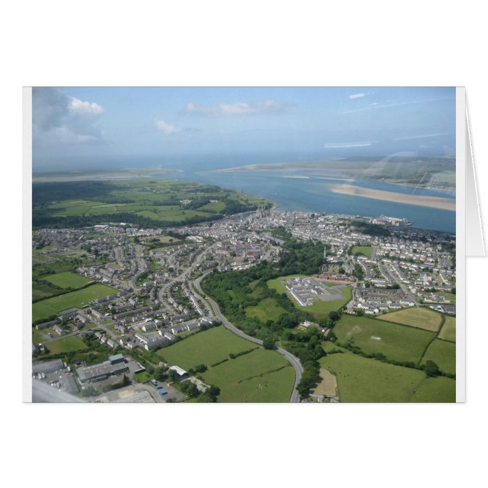 View of Caernarfon and Anglesea Card