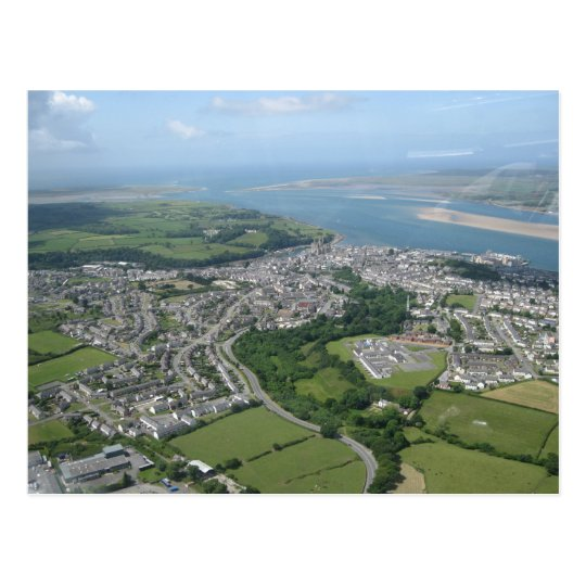 View of Caernarfon and Anglesea Postcard