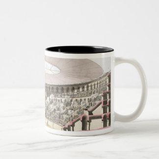 View of Caesar's Amphitheatre (colour litho) Two-Tone Coffee Mug