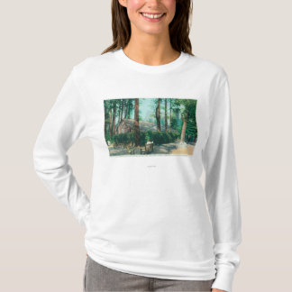 View of Camp Curry Open Air Dining Room T-Shirt