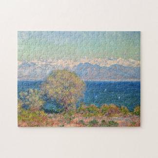 View of Cap D'Antibes Monet Fine Art Jigsaw Puzzle