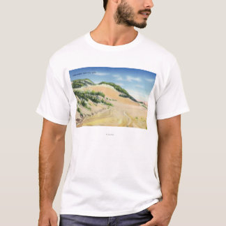 View of Cape Cod Sand Dunes T-Shirt
