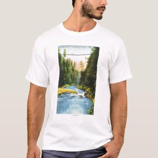 View of Capilano Suspension Bridge # 2 T-Shirt