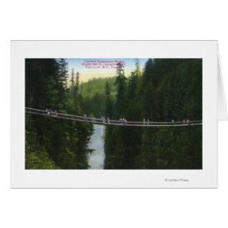 View of Capilano Suspension Bridge Card