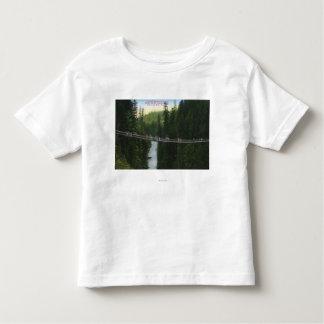 View of Capilano Suspension Bridge Toddler T-shirt