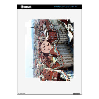 View of capital city of Prague in Czech Republic Skins For iPad 3
