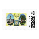 View of Capitol Bldg and Oak Tree Stamp