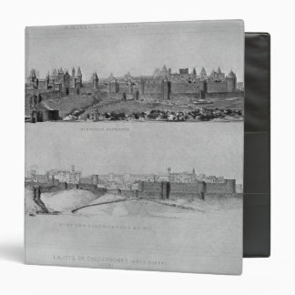 View of Carcassonne from the west side Binder
