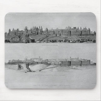 View of Carcassonne from the west side Mouse Pad