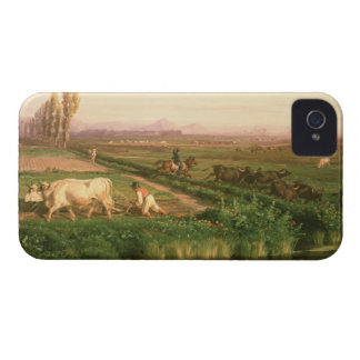 View of Carditello (oil on canvas) iPhone 4 Cover