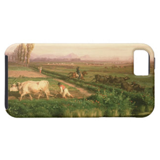 View of Carditello (oil on canvas) iPhone 5 Case