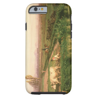 View of Carditello (oil on canvas) Tough iPhone 6 Case