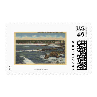 View of Carmel Bay from Scenic Drive Postage