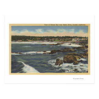 View of Carmel Bay from Scenic Drive Postcard