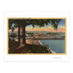 View of Casino & Pier from a Distance Postcards