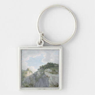View of Castle and Cavern at Castelton Keychain