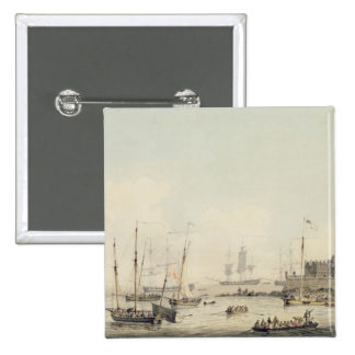 View of Castle Cornet, Guernsey, with Shipping, c. Button