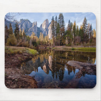 View of Cathedral Peaks Mouse Pad