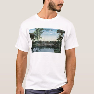 View of Central Park Creek Bridge T-Shirt