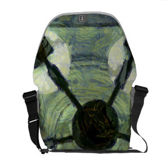 View of Chandelier Courier Bag